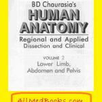 Download BD Chaurasia Human Anatomy volume 2 pdf