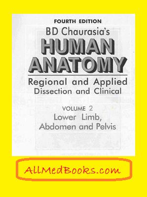 bd chaurasia human anatomy volume 2 pdf