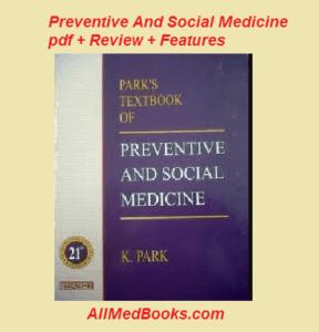 Preventive and Social Medicine by k park pdf